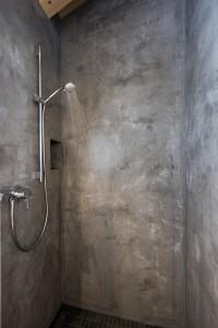 utilisation du b ton cir dans la salle de bain. Black Bedroom Furniture Sets. Home Design Ideas
